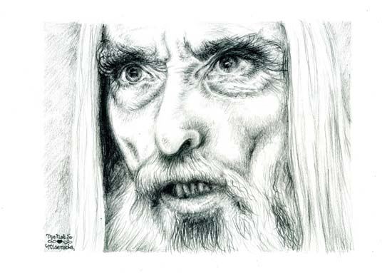 Christopher Lee – Saruman
