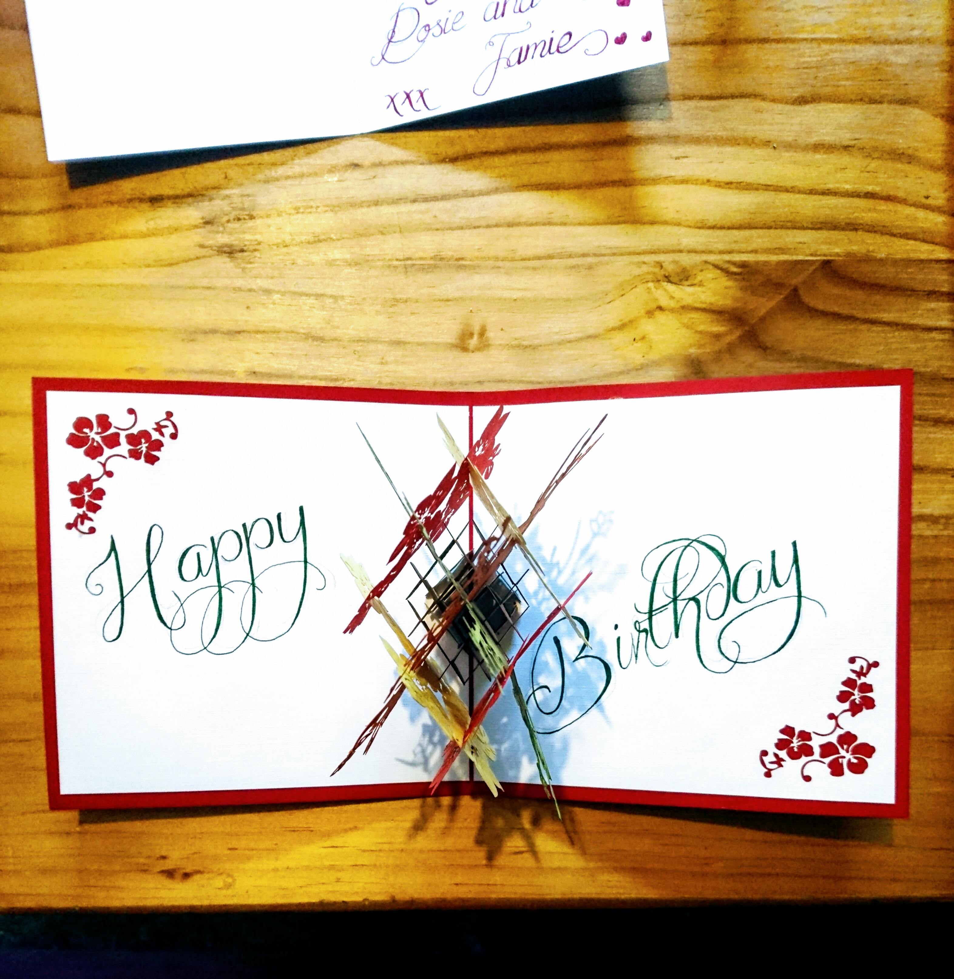 Special Birthday Calligraphy