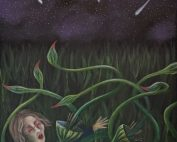 The Day of the Triffids painting